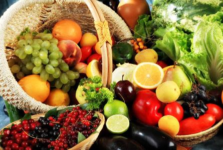 饮食习惯,多吃果蔬
