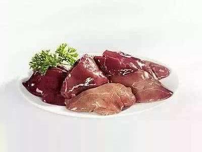 含锌丰富的食物:动物肝脏