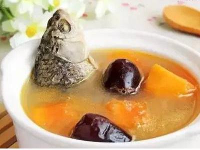 木瓜花生鱼汤