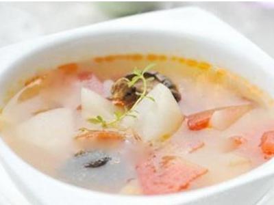 珍珠三鲜汤
